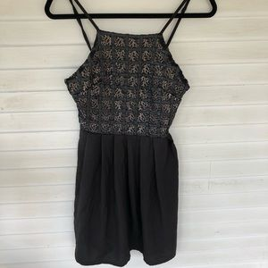 Missguided - Black Mini Dress NWOT